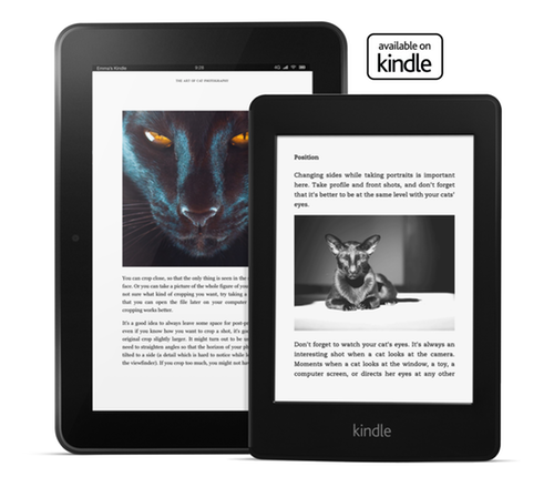 The Art of Cat Photography on Kindle Fire HD and Kindle Paperwhite